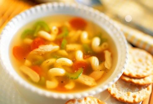 غذای خوب برای آنفلوانزا