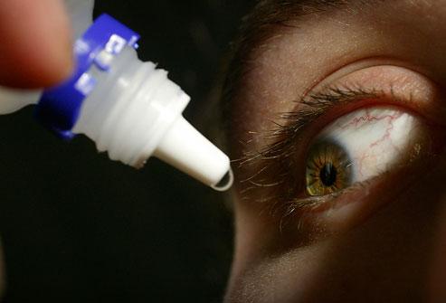 درمان چشم صورتی