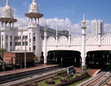 ایستگاه قطار کوالالامپور، مالزی