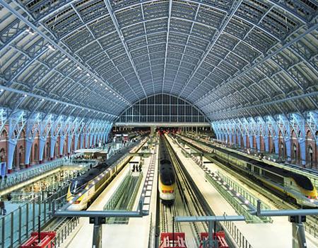 ایستگاه بینالمللی سنت پانکراس، لندن