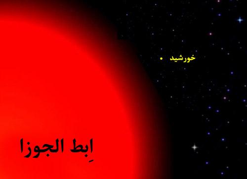 بزرگترین ستاره ها