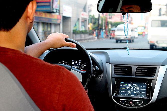 رانندگی در ترافیک