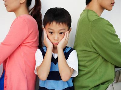 تاثیر دعوای والدین