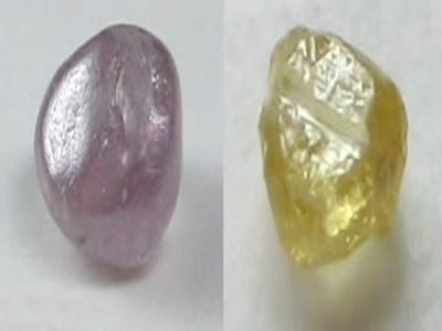 کیفیت سنگ جواهر الماس