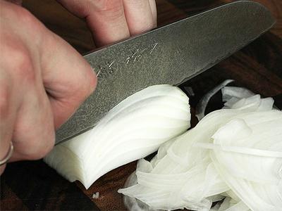 روش برش با چاقو