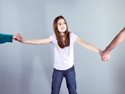 اشتباهات والدین در طلاق