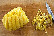بریدن آناناس