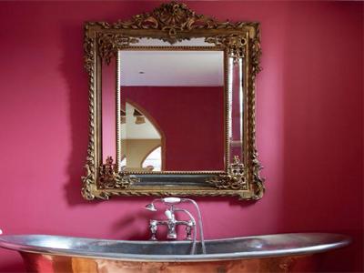 تمیز کردن آینهها