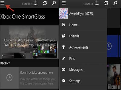 استفاده از تلفن همراه با Xbox one