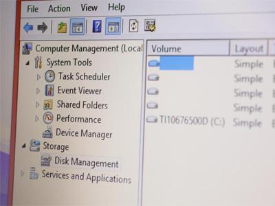 پارتیشن بندی هارد درایو برای نصب ویندوز 10