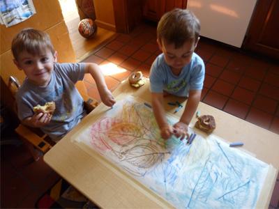 استفاده از پاستل گچی برای کودکان