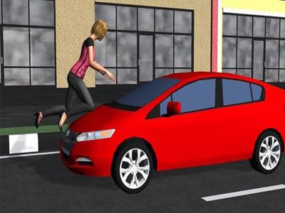 کم کردن آسیب در زمان تصادف با ماشین
