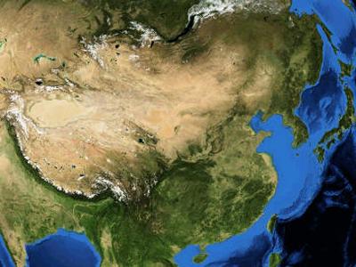 موقعیت کشور چین