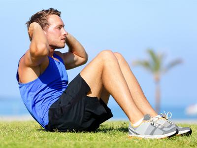 دراز نشست برای کاهش چربی شکم
