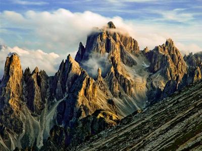 کوههای دولومیتی