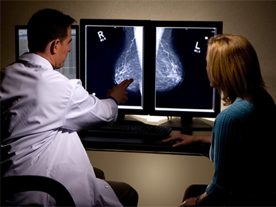 تشخیص سینه فیبروکیستیک