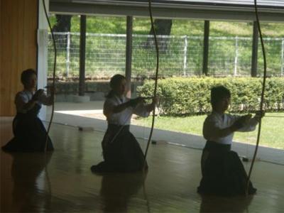 تمرین کیودو
