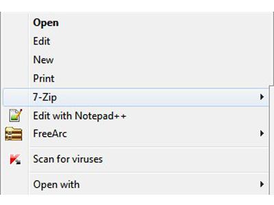 فشردهسازی فایل در ویندوز